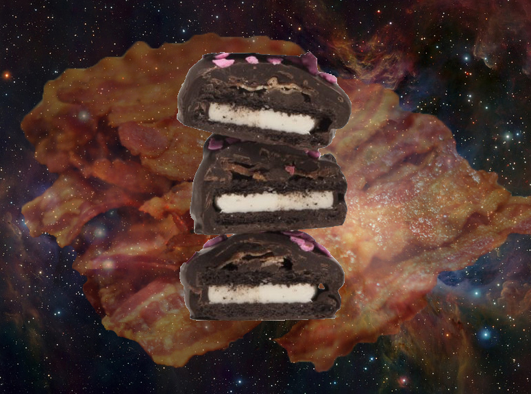 Bacon oreos, the greatest gift, gift ideas, this is it, i want it all, take my money