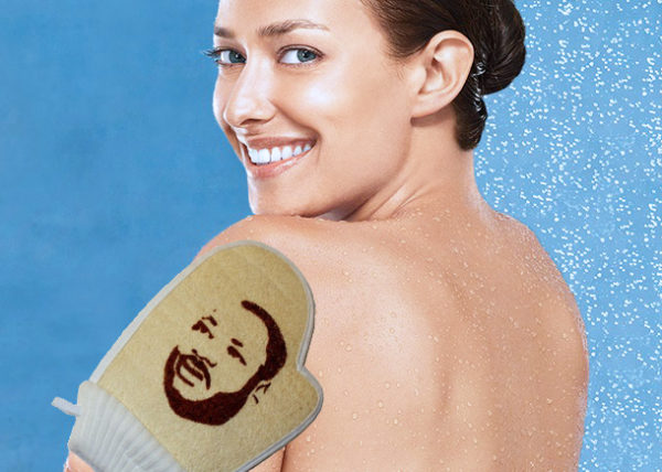 martin loofah king, martin luther king shower, this is it, i want it all, gift idea, item product